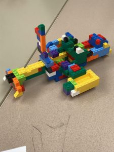 Abstract Lego Creation